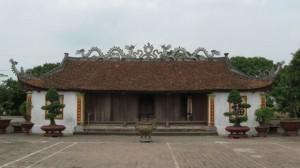 Đền thờ Mạc Đĩnh Chi ở quê hương Nam Sách, Hải Dương.