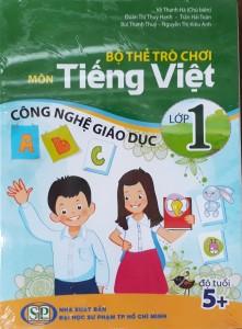 Bộ thẻ trò chơi môn Tiếng Việt lớp 1 Công nghệ giáo dục